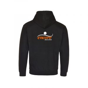 Black & Orange Hoodie
